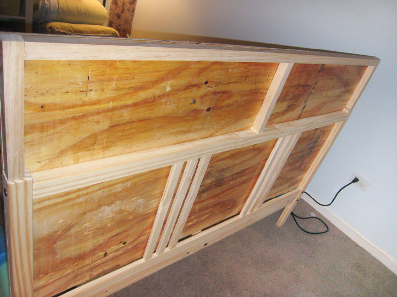 How to Build Headboard - Extending the Frame of Ikea Fjellse