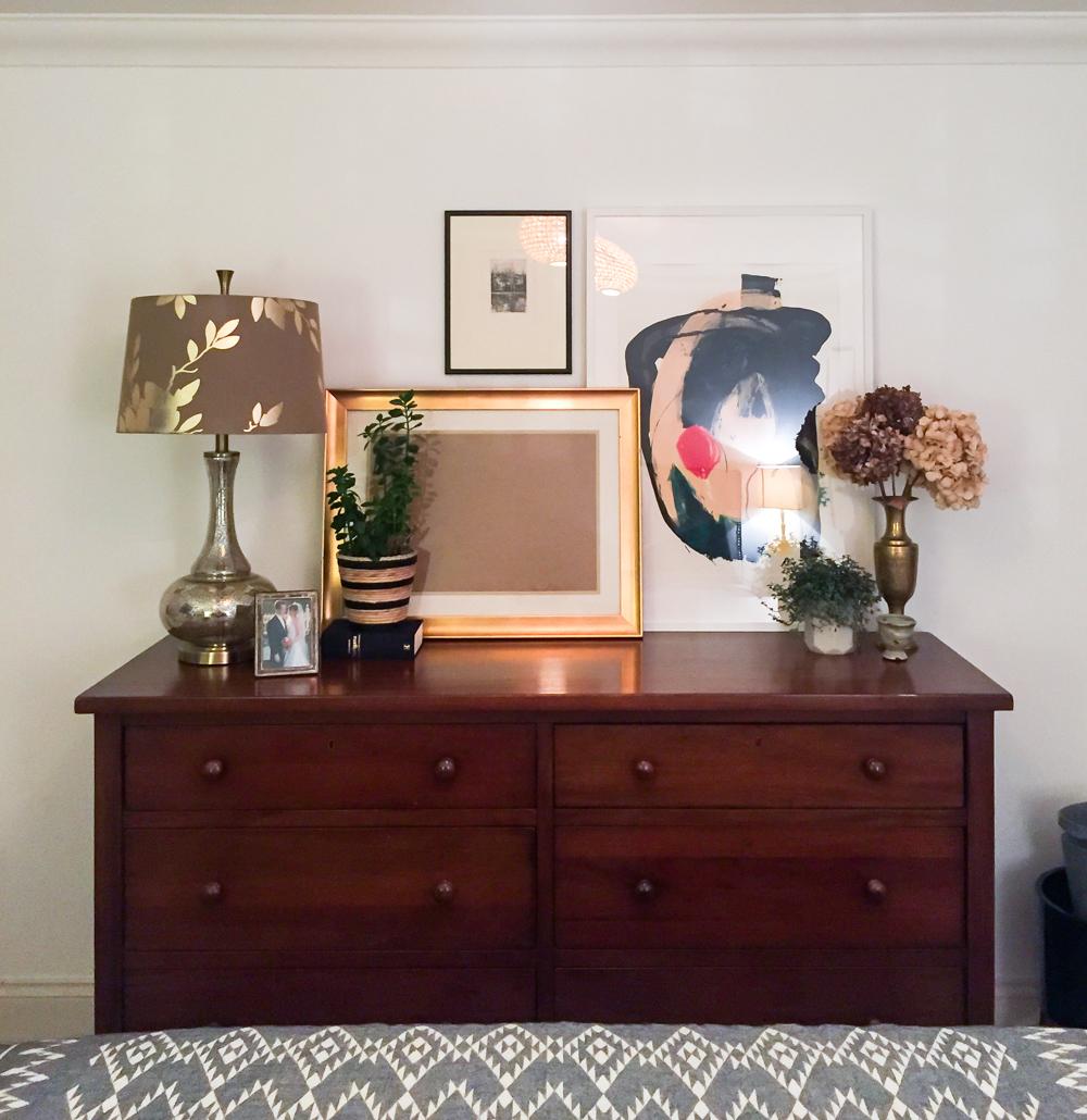 Living In One Room One Room Challenge Week 4 More Master Bedroom Progress But Not