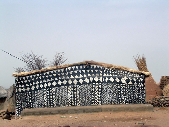 Burkina Fasa Painted Houses