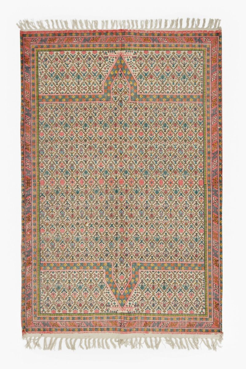 French Connection Home Mosaic Floral Rug