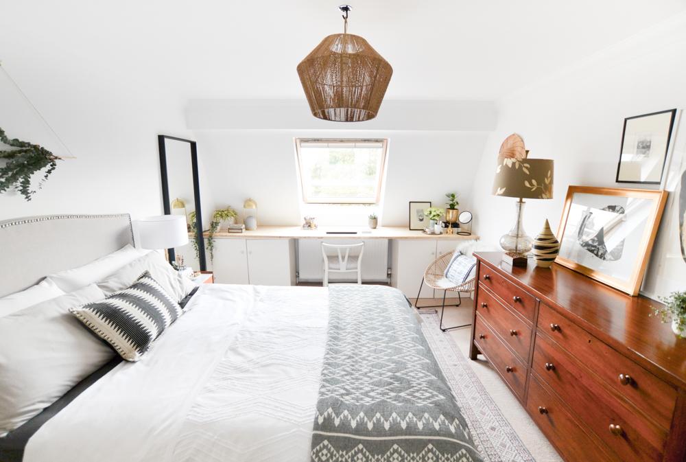 One Room Challenge Week 6 Neutral Master Bedroom Reveal