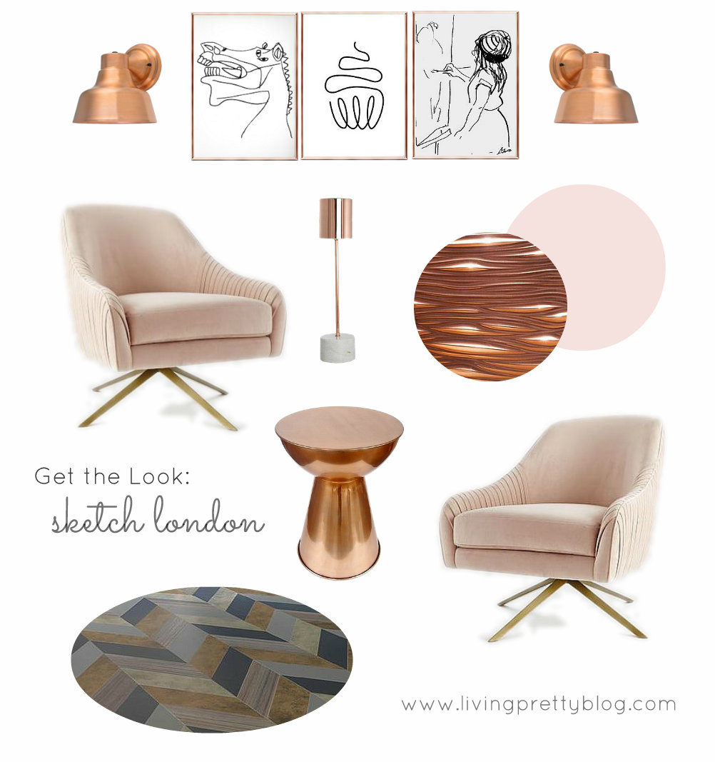 Mood Board - Get the Look - Sketch London