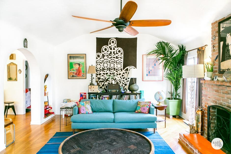 Favorite Things: A Shibori Headboard, A Green Bomber Jacket & A Boho Rental in LA