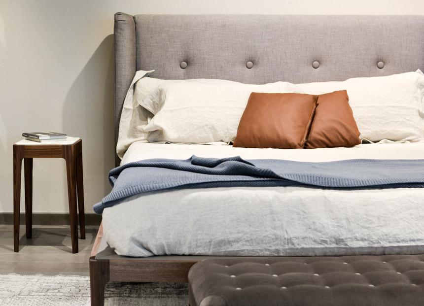 2017 Interior Design Trends Home Decor Trend Report - Midcentury via Porado Ziggy Bed