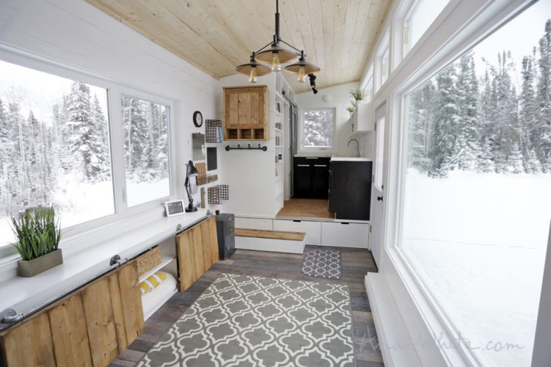 Ana White Tiny House Open Plan Scandi Style