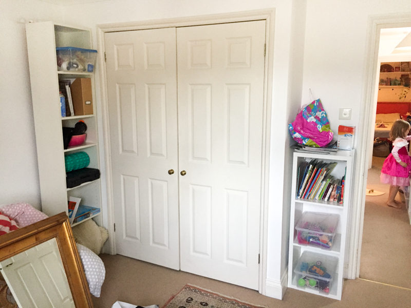 Global Boho Bedroom Kids Room Before Photos- One Room Challenge Spring 2017