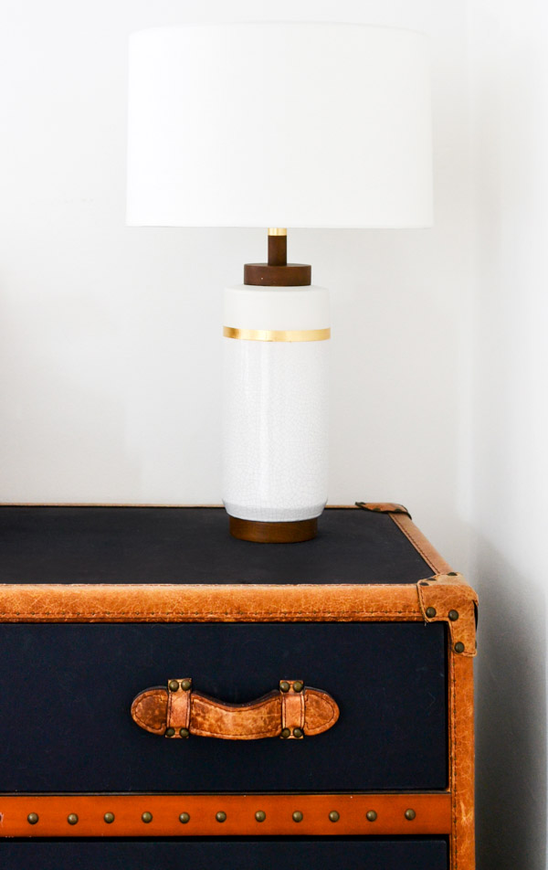 One Room Challenge Week 4 - West Elm Roar & Rabbit Lamp